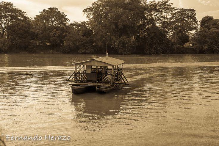 Atardecer en Rio Sinú #Monteria #Colombia