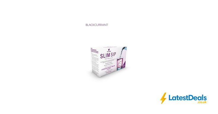 Slim Sip Blackcurrant - Weight Loss and Cholesterol Management - 10 Day Supply, £7.99 at ebay