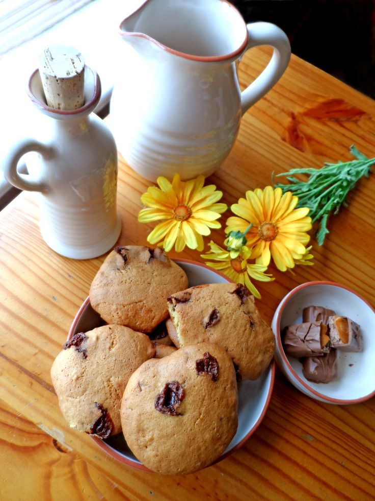 Mars Bar Cookies! #marsbar #cookies