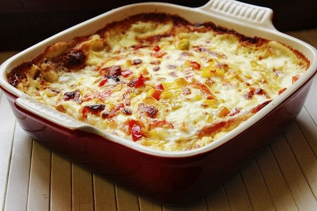 Dolci peccati di gola: Lasagna di pane carasau e verdure.