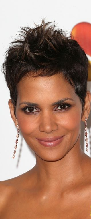 Halle Berry ... stunning.  I could never pull this off.  She is so beautiful.