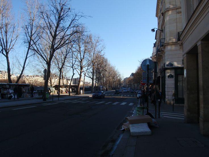 Cerca de Notre Dame pero al otro lado del Sena