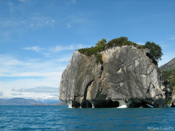 Austral Road: the Marble Cathedral; General Carrera Lake, Chile. #travel #Chile #AustralRoad #nature #landscape