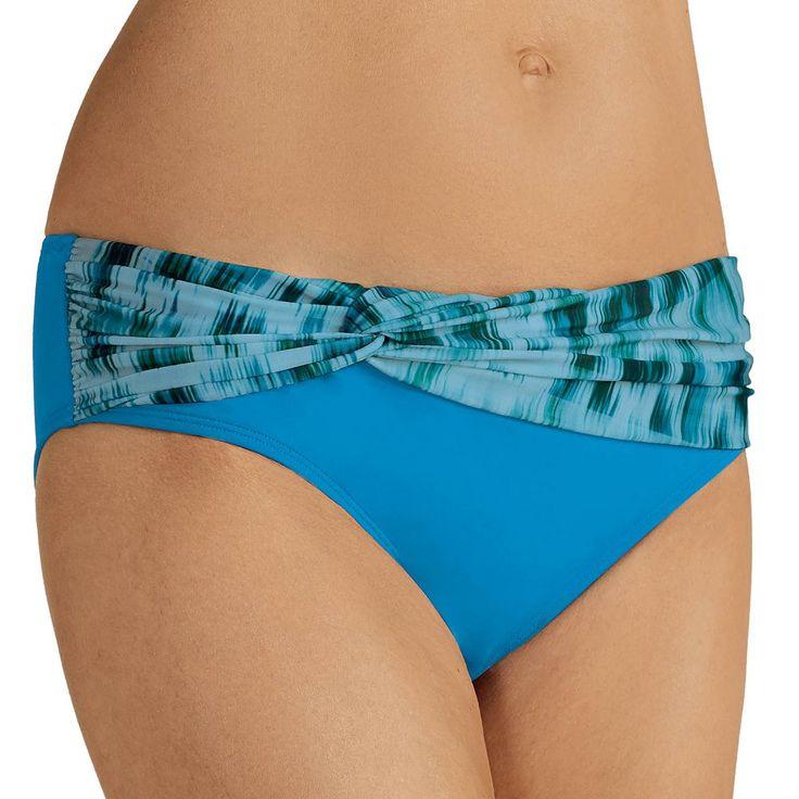 Women's Amoena Animal Print Bikini Bottoms, Size: 12, Ovrfl Oth