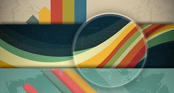free retro backgrounds psd for Photoshop