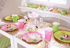 Idee für den 'Mädchen 'Geburtstag - PRINZESSINPARTY – Küss den Frosch -Mit Bastelvorlagen, Printables, Spielen und süßer Deko