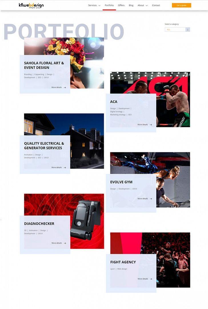 Digital Creative Agency Kfl Webdesign Design Inspiration Webdesign Portfolio Branding Marketin Digital Creative Agency Web Design Event Design Branding