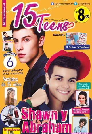 Revista Virtual 15&Teens Edic. 41  Revista para Quinceañeras y Teens peruanas, donde podrán encontrar empresas para organizar su Fiesta de 15 años en Lima, Arequipa y Cusco.