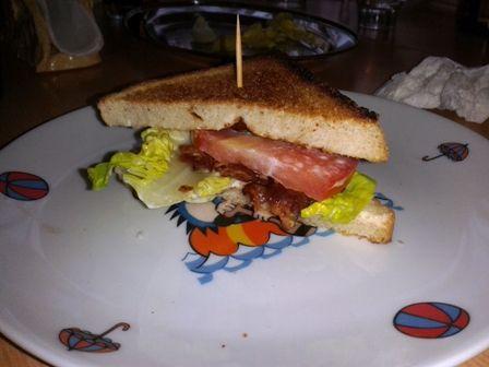 Jakub piše: Majkle tvůj BLT sandwich je vynikající.