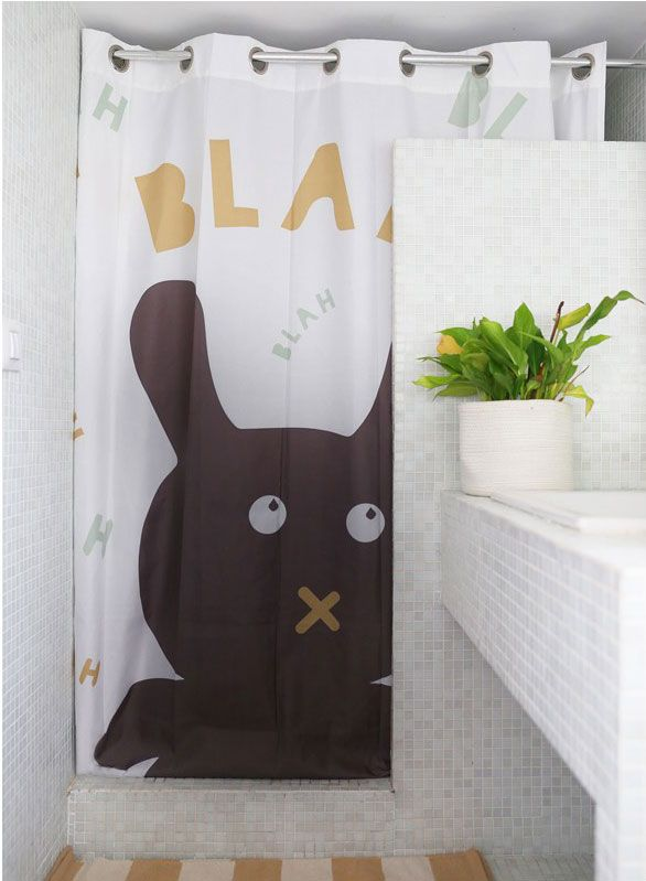 cortinas de ducha para niños de Shower Curtain BCN
