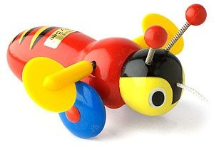 Iconic toy of New Zealand.Buzzy Bee is well known for it's red, blue and yellow…