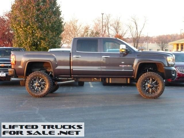 2015 GMC Sierra 2500HD SLT Diesel Crew Cab Lifted Truck Collinsvi
