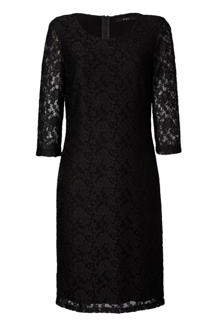 schwarzes kleid mit spitze schwarzes kleid mit spitze kleid mit dress. Black Bedroom Furniture Sets. Home Design Ideas