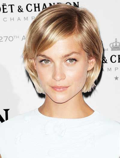 short hairstyles for heart shaped faces - Google Search