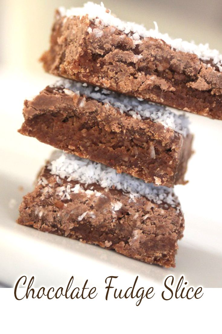 We love making chocolate slice and we love coming up with a few different variations.