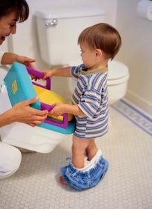 How to Potty Train a 1-Year-Old Boy Who Can't Talk - Definitely trying this!