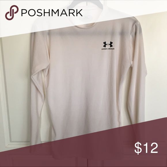 White Under Armour long sleeve undershirt White Under Armour long sleeve undershirt. EUC. Under Armour Tops Tees - Long Sleeve