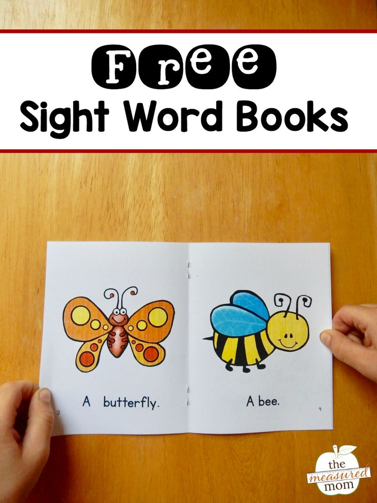 Learning Sight Words - I Can Teach My Child!