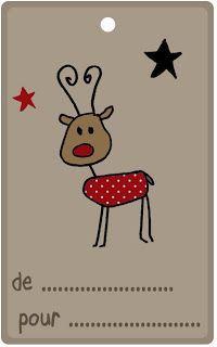 Petits canaillous | Des �tiquettes de No�l | http://www.petits-canaillous.fr                                                                                                                                                                                 Plus