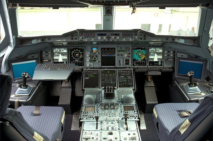 Airbus A380 Cockpit http://1502983.talkfusion.com/product/