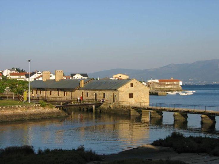 Molino de mareas en Muros. Prov. A Coruña