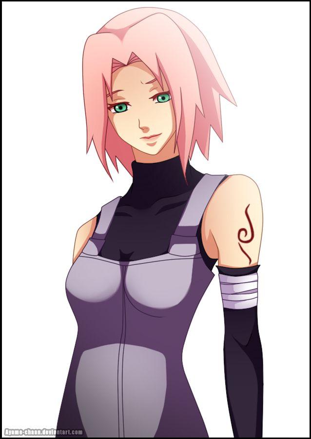 Sakura haruno of squad 7 naked