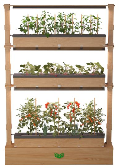 CropTech. - Smart Hydroponic Systems, Hydroponic Green Wall