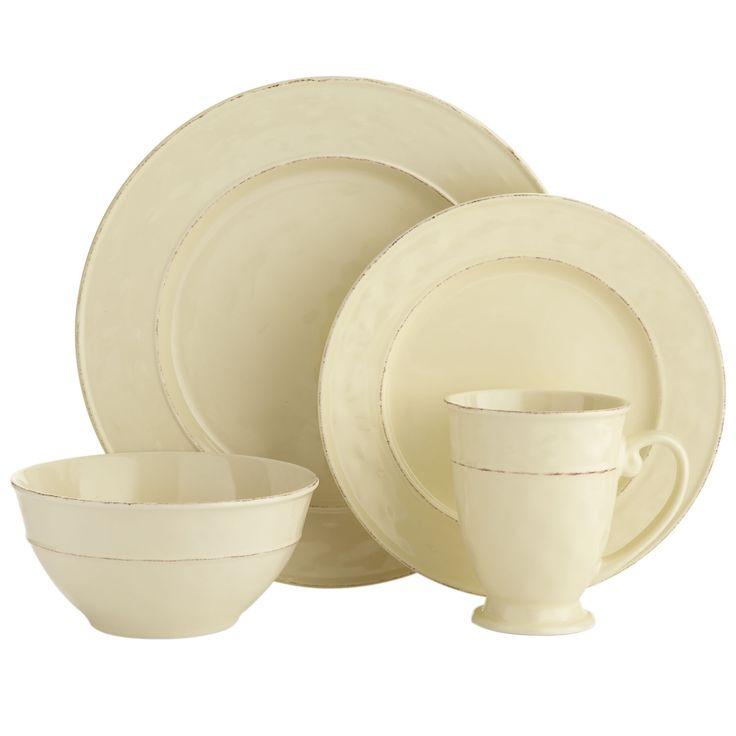 Martillo Cream Dinnerware