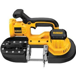 DEWALT Bare-Tool DCS370B 18-Volt Cordless Band Saw (Tool Only, No Battery)  You Save: 	$ 186.68 (48%)  	  $203.96