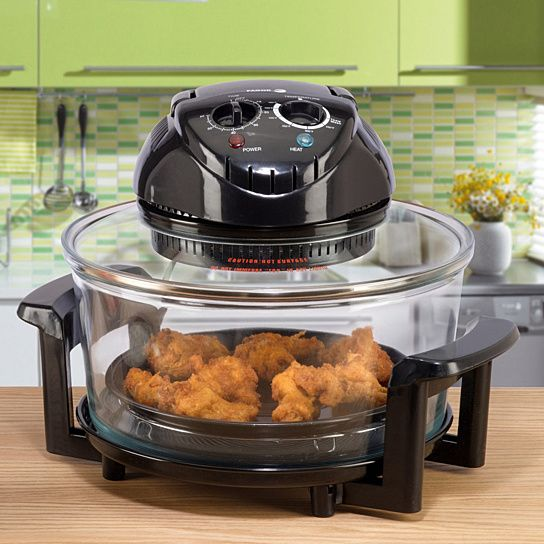 Holiday Wishlist: Halogen Tabletop Oven This portable tabletop oven uses a powerful internal fan which circulates hot air to cook food evenl...