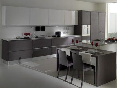 10 Fotos de Cocinas Grises | Ideas para decorar, diseñar y mejorar tu casa. #cocinasmodernasideas