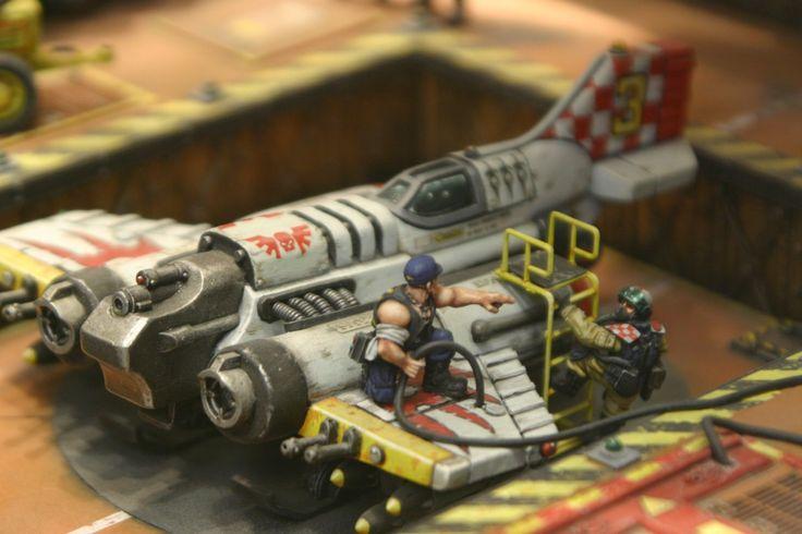 The Veil's Edge: Imperial Thunderbolt Diorama