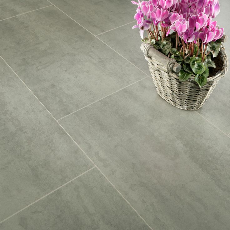 Series 8mm Salamanca Grey Slab Laminate Flooring