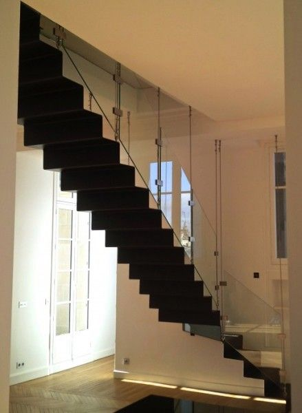 7 best Escalier tôle pliée Wave / Wave bent steel Stairs images on ...