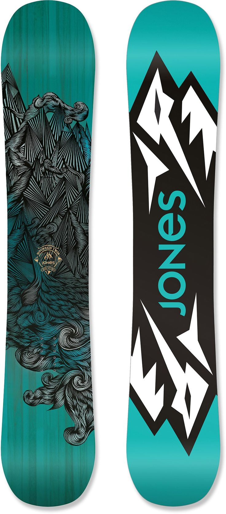 Jones Mountain Twin Snowboard - 2014/2015