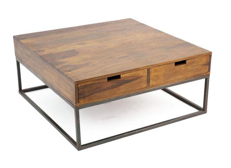 1000 ideas about table bois et fer on pinterest table - Table en bois et fer ...