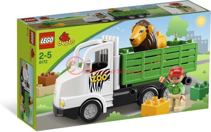 Lego Duplo Állatkerti Furgon 6172