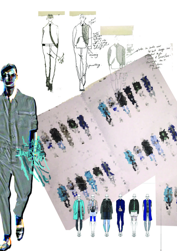 Fashion Sketchbook - fashion design sketches; creative process; fashion portfolio // Maddie Levis