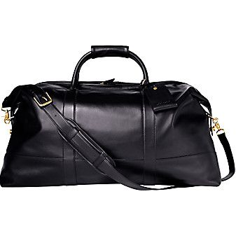 3a8c26cb5f ... coupon code for coach black leather duffle perfect for road trips  roaming gnome pinterest bags leather