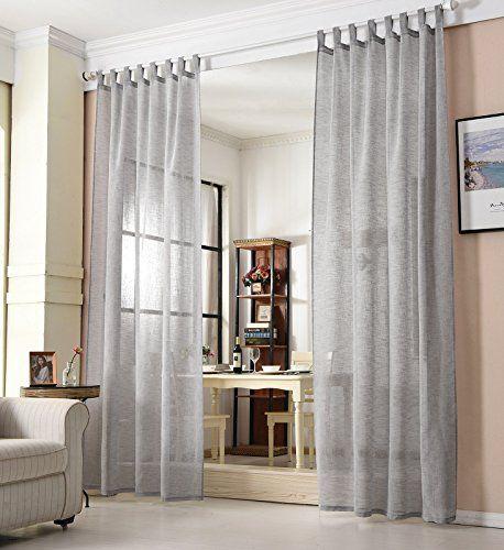 Die besten 25+ Transparente gardinen Ideen auf Pinterest - vorhange wohnzimmer grau