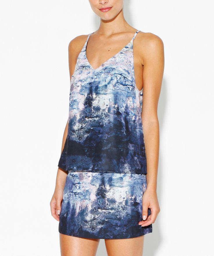 Don't Ask Amanda | surface print jessie cami | $59.95