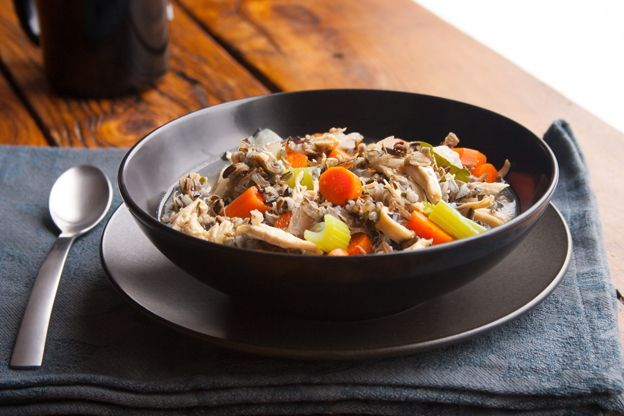 Slow Cooker Chicken and Wild Rice Stew