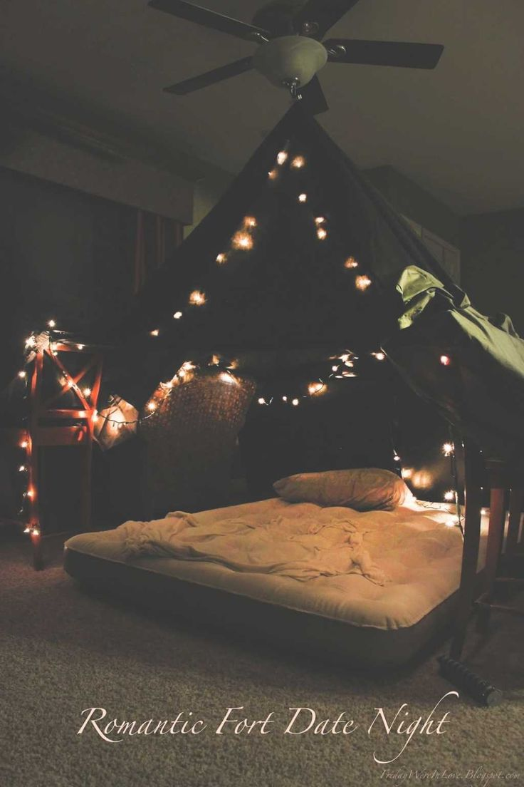 Charming Romantic Night At Home Ideas For Him