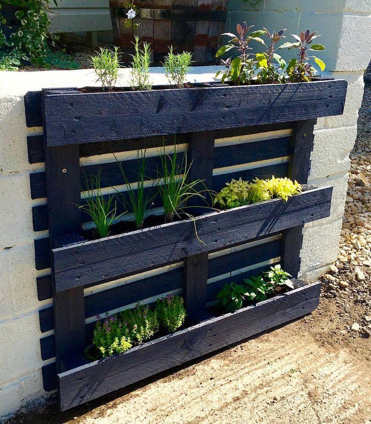 Best 25 Patio Planters Ideas On Pinterest: Best 25+ Pallet Planters Ideas On Pinterest