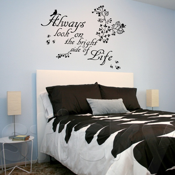 Wall Sticker THE BRIGHT SIDE by Sticky!!!