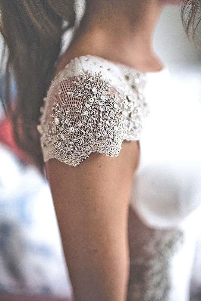 Fall In Love With These Fantastic Details Of Bridal Dresses ❤️ www.weddingforwar... #wedding #bridal #dresses