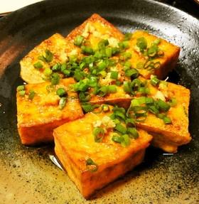 おつまみに*厚揚げの照り焼き*Teriyaki Fried Tofu Snacks