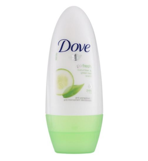 Dove Go Fresh Cucumber Roll On 50ml - Boots