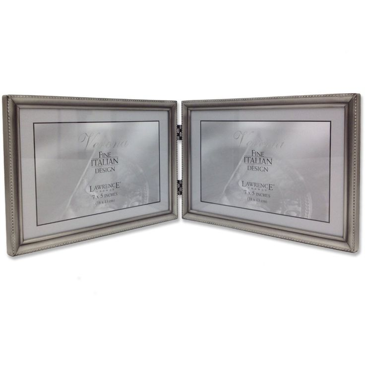 Pennell Bead Hinged Double Picture Frame