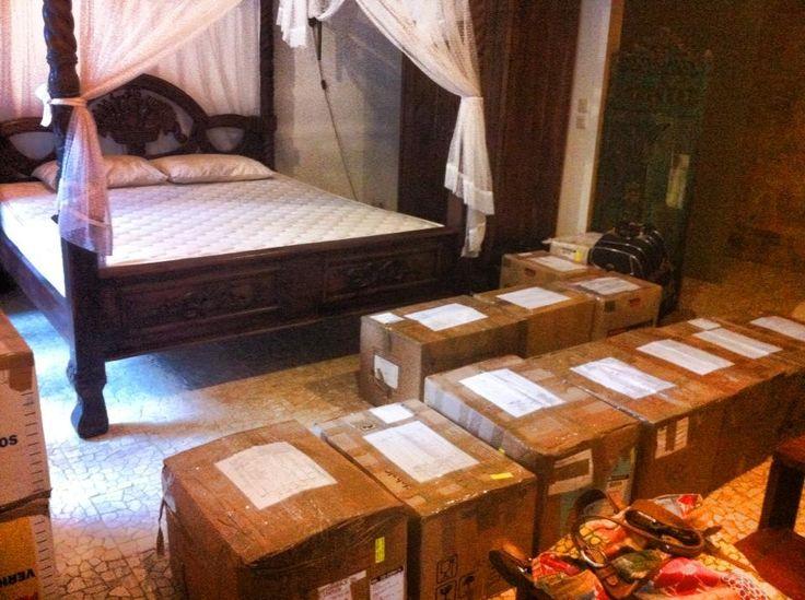 Hulpgoederen voor Indonesie!